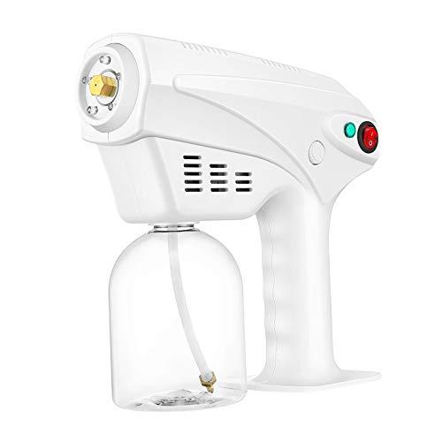 S SMAUTOP Máquina de pulverización, desinfección Máquina de nebulización de pulverización Blanca Pulverizador atomizador de 220V para Hotel Restaurante Hospitales Familiares Escuelas (500ml)