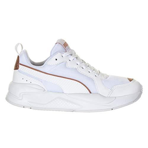 Tênis Puma Xray Metallic BDP Feminino Branco Rosa Peso:0.8000;Cor:Branco;Tamanho:35