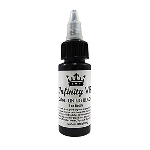 30ml / Flasche Professional Tattoo Pigmenttinten Safe Half Permanent Tattoo Farben Zubehör für Body Beauty Tattoo Art - Schwarz