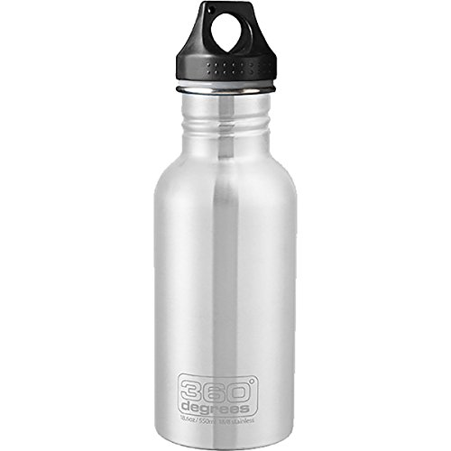 360° Stainless Steel Bottle Volumen 1000 Steel