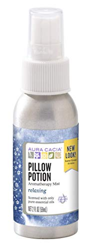 Aura Cacia Pillow Potion Mist   GC/MS Tested for Purity   59 ml (2 fl. oz.)
