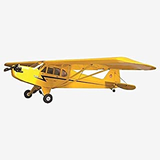 S2304B 2019 Upgrade Balsa wood Electric Airplane 1 2M Piper Cub J3