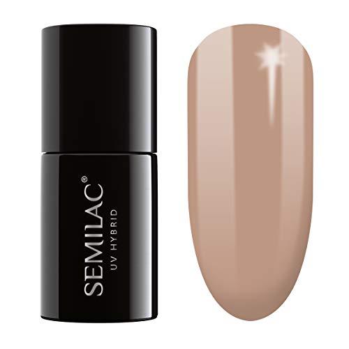 semilac UV Hybrid Nagellack, Anzahl 138, 7ml, perfekten Nude