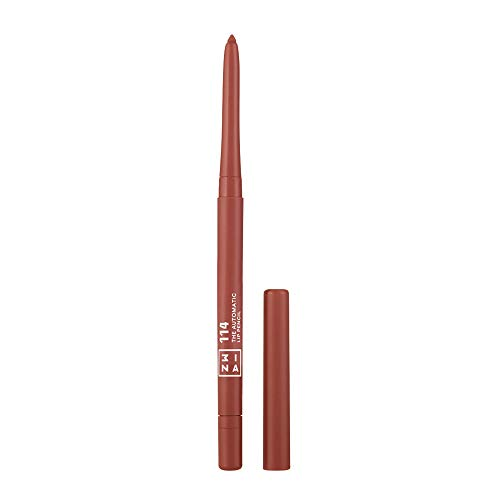 3INA Cosmetics The Automatic Lip Pencil 114, Perfekt definierte Lippenkontur,Wasserdichte Lip Liner,...