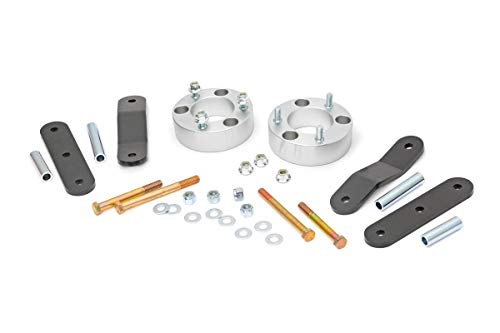 "Rough Country 2.5"" Lift Kit compatible w/ 2005-2020 Frontier   Xterra   Billet Aluminum Suspension System   867"