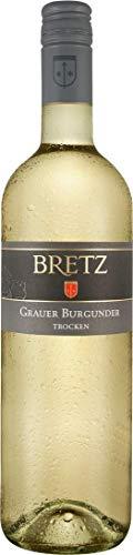 Ernst Bretz Grauer Burgunder trocken QbA Weißwein 0,75 l