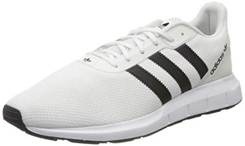 adidas Mens Swift Run 2.0 Sneaker, Footwear White/Core Black/Footwear White, 46 EU