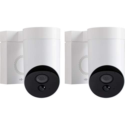 Somfy Outdoor Camera Duo Pack wit