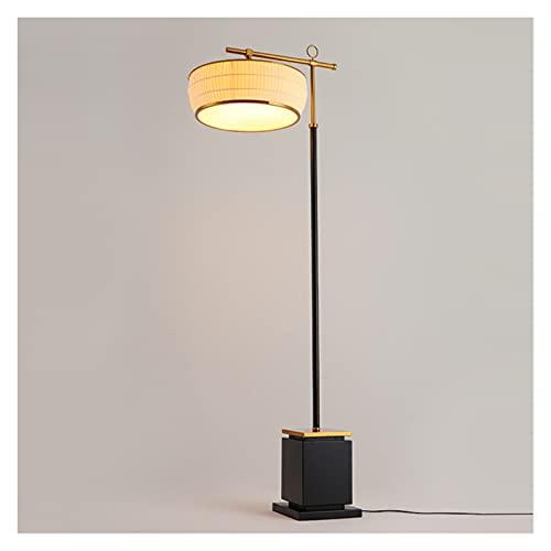 JSJJRFV lámpara de Piso Lámparas de pie Llevado Nórdico de salón de la lámpara trípode de Metal de pie clásica lámpara de lampadaire Cuarto