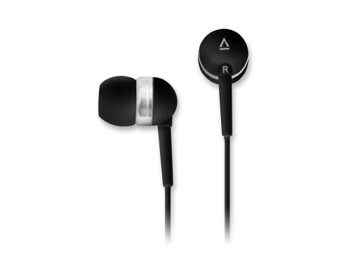Creative EP-630 Noise-Isolating in-Ear Earphones with Superior Audio Quality, Deep Bass, Clear Highs, and Soft Ergonomic Earbuds (Black)