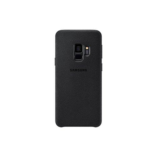 Samsung Alcantara Cover (EF-XG960) für das Galaxy S9, Schwarz