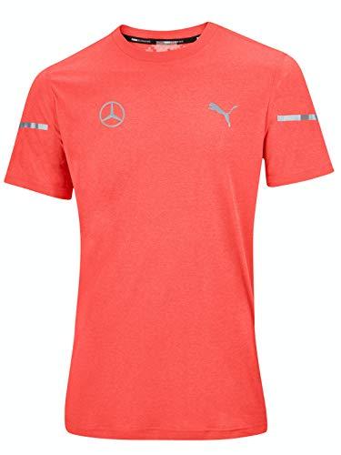 Mercedes-Benz Collection 2020 Funktionsshirt Herren, orange, Puma, Running