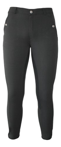 RTS Damen Reithose mit Alos-Vollbesatz, anthrazit/anthrazit, 42 (UK 29/32), 1502-155-42