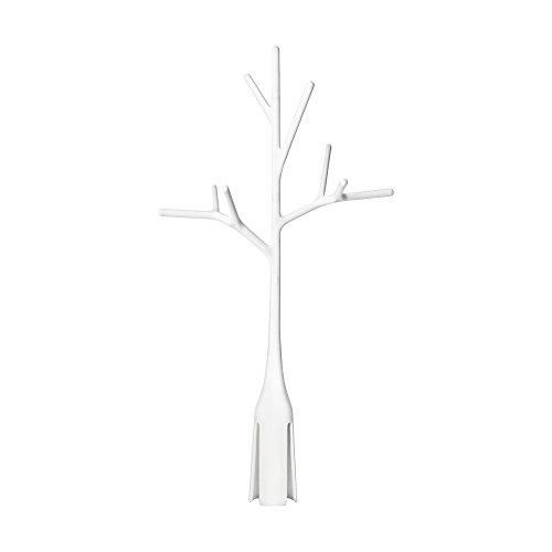 TOMY BOON - Égouttoir pour Biberons en forme d'arbre TWIG B358MP1, Égouttoir pour Bébé, Séchoir pour Tétines de Biberons, Anneaux ou Bouchons et autres Accessoires de Bébés, Blanc
