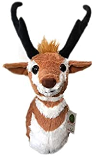 "ADORE 16"" Zion the Pronghorn Antelope Stuffed Animal Plush Walltoy Wall Mount"