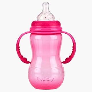 Nuby 1096 Nurser Bottle 360ML 3months - pink