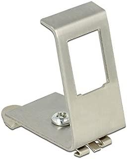 Delock Keystone Metal Bracket 1Port for DIN Rail