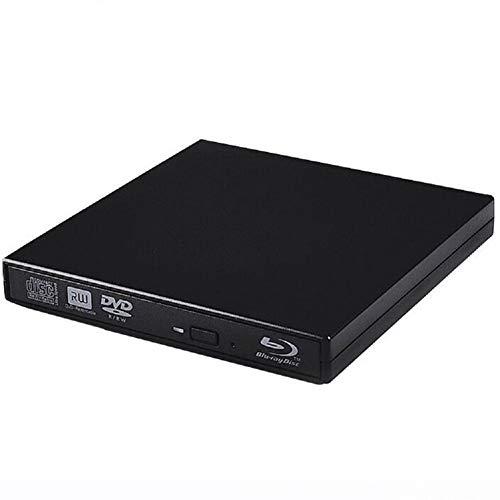 Mobiele BD-RW externe Blu-Ray brander, ondersteuning BD25 / BD50 3D Blu-Ray lezen en schrijven, DVD+/-R, D9/Ram branden voor Macbook, Ultrabook, Netbook of Laptop