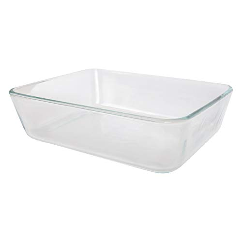 Pyrex 7211 6 Cup Rectangle Clear Glass Food Storage Dish