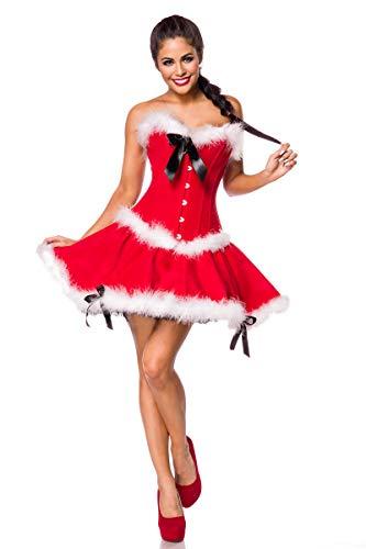 MASK PARADISE Miss Santa Komplettset