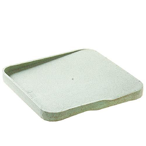Snijplanken snijplank, omkeerbare 22 *  22 cm, antislip snijplanken en diepte, druppelsap-groove-planken gemakkelijk te reinigen houten snijplanken