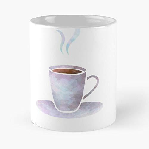 Revolves Life Hot Circle Coffee Best 11 oz Kaffeebecher - Nespresso Tassen Kaffee Motive