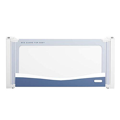 ZHAS Einzelkleinkind-Bettgitter, tragbare klappbare Sicherheitsbettschutzvorrichtung, platzsparend Babybettlaufschutzvorrichtungen (Größe: 150 cm)