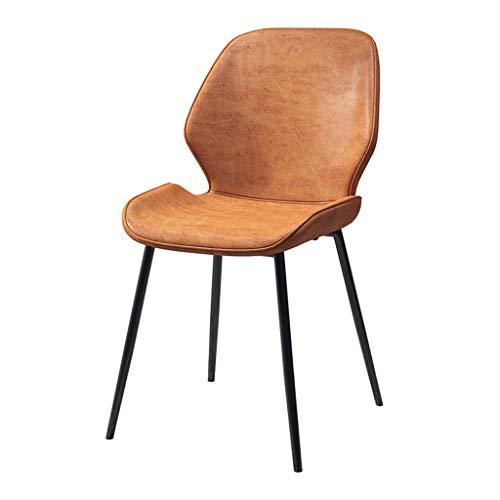 HEJINXL Eetkamerstoel Moderne eenvoud Thuis PU Stoelen Fauteuil Bureau Kruk Voor Cafe Office Lounge Eetkeuken