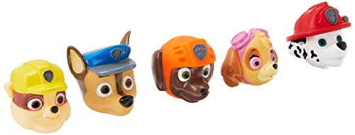 Nickelodeon Paw Patrol Bath Squirter, 5 Pack