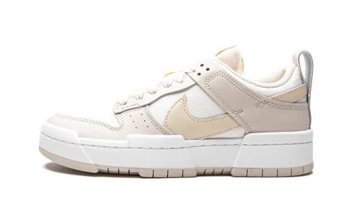 Nike W Dunk Low Disrupt, Zapatillas de bsquetbol Mujer, Sail Pearl White Desert Sand, 44 EU