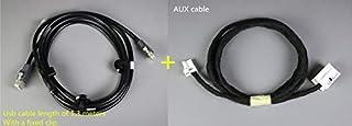 Davitu Stereo USB Cable For Peugeot 206 207 307 308 407 408 508 607 Citroen C2
