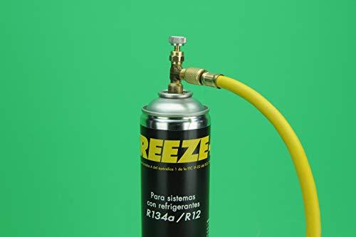GAS REFRIGERANTE R134A R12 SUSTITUTO ORGANICO MINUS 30 HYCHILL COMPATIBLE CARGA