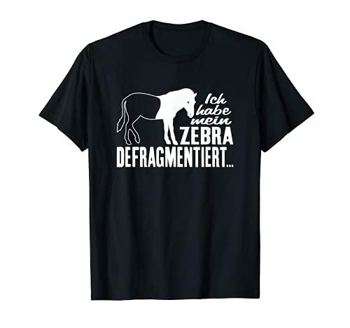 T-Shirt Zebra - Informatik Computer Informatiker Witz Spruch