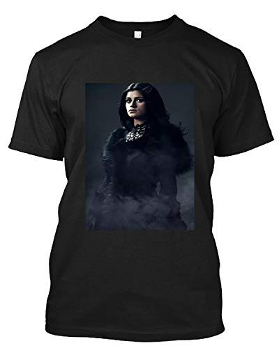 #Anya Chalotra's #Yennefer of Vengerberg in #The Witcher 5 T Shirt Gift Tee for Men Women Black