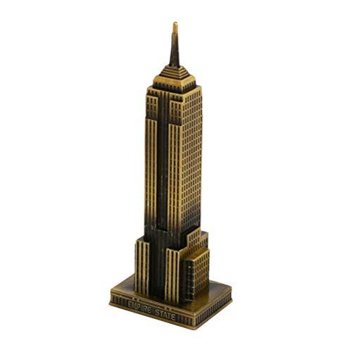 Supvox - Gebäude-Modellbausätze in Bronze-, Größe 7x5,5x22cm