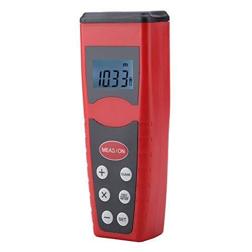 CP3000 Ultraschall Entfernungsmesser, Digital LCD Handlängen Entfernungsmesser, drahtloser elektronischer Laser Entfernungsmesser