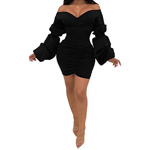 Moin Mujer Invierno Nuevo vestido delgado de la Moda Discoteca Encaje cadera del paquete delgado falda de lana de tejer vestido