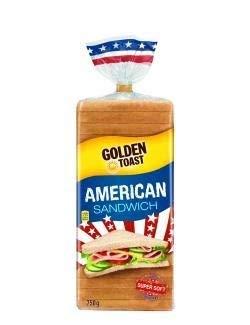 Lieken American Sandwich Toast 750 g, 1er Pack (1 x 0.75 kg)