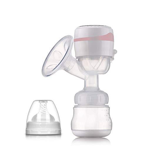 ZZMY - Juego de bomba de leche eléctrica eléctrica inalámbrica de gran succión de una sola pieza para hacer leche cargable Bebes accesorios