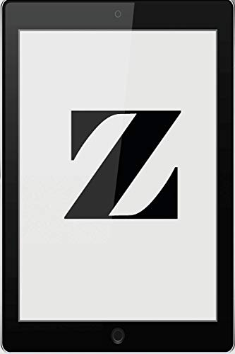 Z: Personalized College Ruled Pages Notebook Journal Modern Black Tablet Tech Theme Bjournal Notepad Initial Monogram Letter Z- Many Usage Handy Travel Size For Men Teens Boys