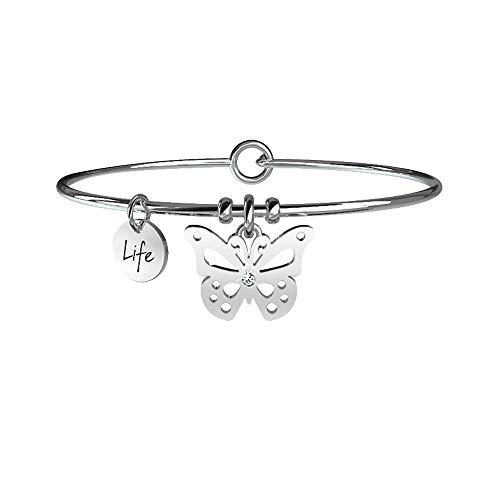 Farfalla Carpe diem, Unica, Argento