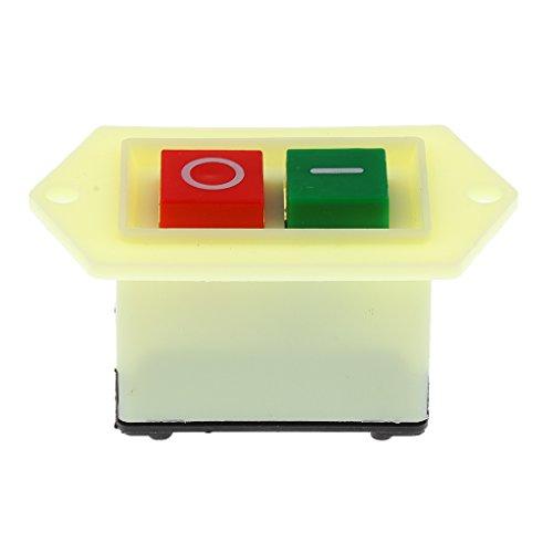 NC Interruptor de Encendido/Apagado Del Botón Pulsador de La Amoladora Del Banco 10A de La Prensa de Taladro Impermeable