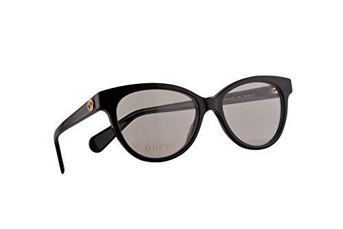 Gucci GG0373O Brillen 52-16-140 Schwarz Mit Demonstrationsgläsern 001 GG 0373O