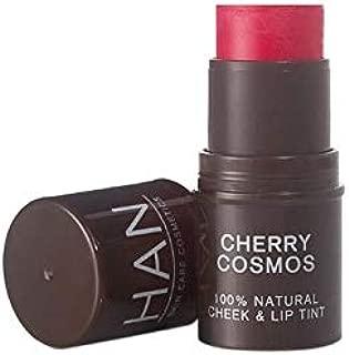 HAN Skincare Cosmetics All Natural Cheek and Lip Tint, Cherry Cosmos