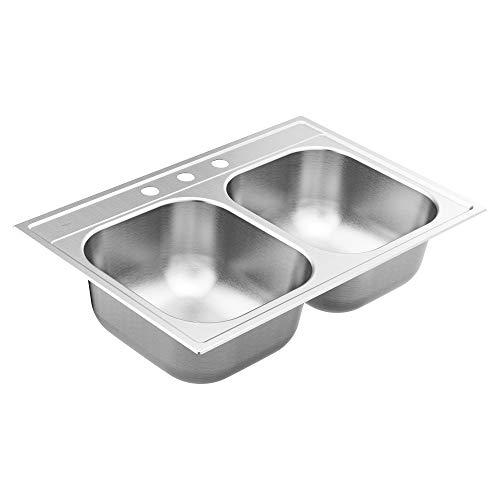 Moen 22 Gauge Double Bowl Sink review