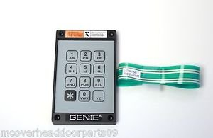 Best Bargain Genie Garage Door Opener KEP-1 Keyless Entry Keypad and Ribbon, Part # 20235R,S