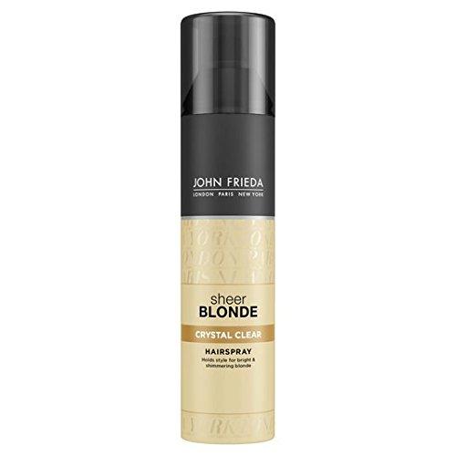 John Frieda Sheer Blonde Kristall Hold-Form & Shimmer Hairspray 250ml