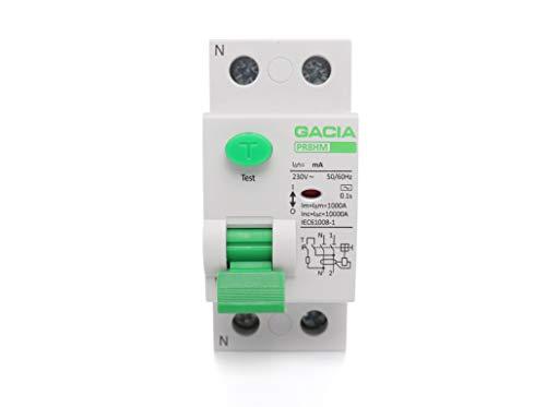 Disjoncteur différentiel - Différence de l'électricité - Disjoncteur différentiel - RCD - RCCB (40A - 2P - 30mA - 10kA - TYP AC)