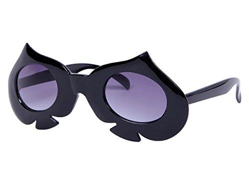 Lunettes humoristique pour adultes et Ados (F-041) accéssoire pour compléter votre déguisement ou pour amuser vos amis Lors de soirée déguisée festival beach party original, choisir:F-041 pique