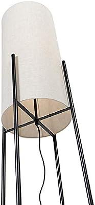 Qazqa Lampadaire | Lampe sur pied Moderne - Rich Lampe Noir Gris - E27 - Convient pour LED - 1 x 40 Watt
